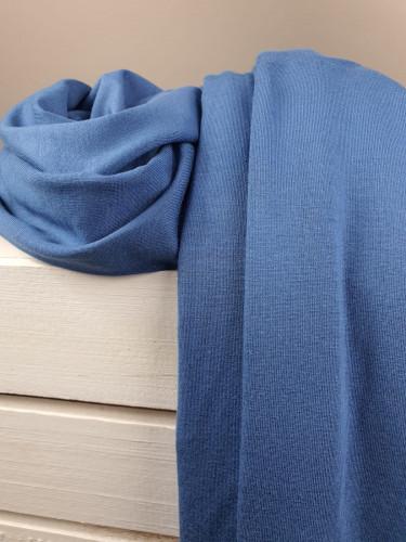 Lillestoff Jersey Modal Uni Blau