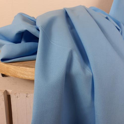Westfalenstoffe Baumwollstoff Junge Linie Hellblau