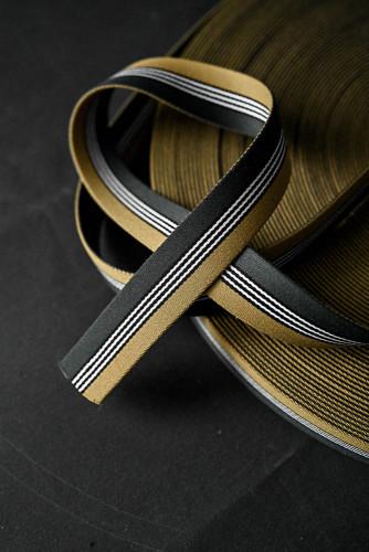 Merchant and Mills: Dashing Gold Green 35mm Gurtband