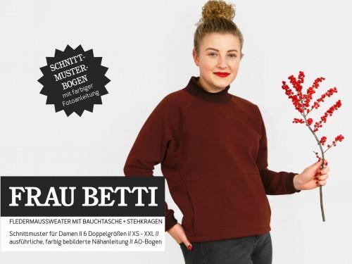 Studio Schnittreif Schnittmuster FRAU BETTI Fledermaussweater