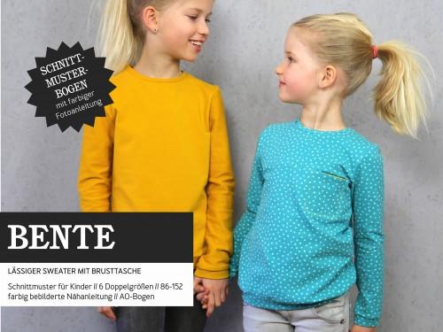 Studio Schnittreif Schnittmuster BENTE Sweater mit Brusttasche