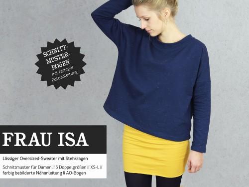 Studio Schnittreif Schnittmuster FRAU ISA Oversized Sweater