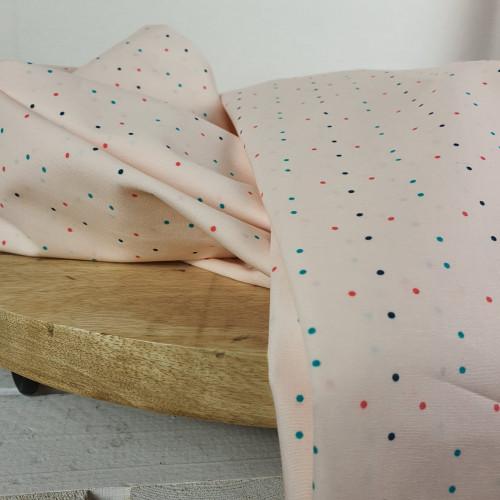 Art Gallery Fabrics Premium Baumwollstoff Everlasting Rosa Bunte Dots