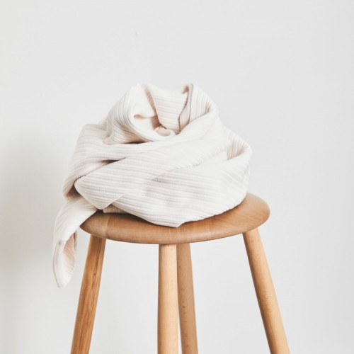 Mind The Maker Organic Selanik Knit Strick Creamy White
