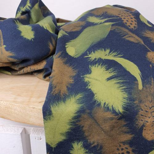 Stenzo Jersey Blätter Grün