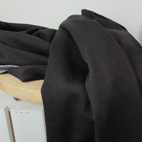 Hosenstoff Baumwolle Jeans Schwarz