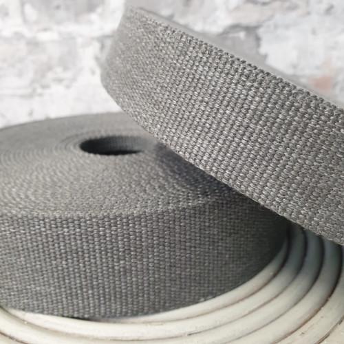 Gurtband Grau 4cm